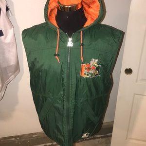 Starter vest Miami hurricane Xl